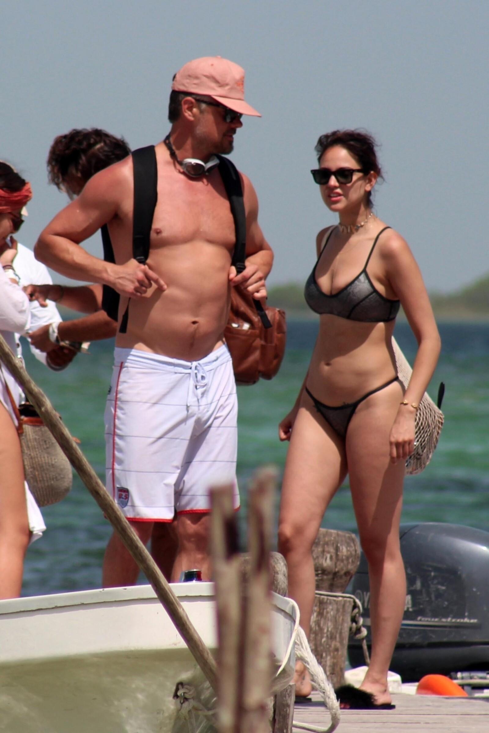 Eiza González y Josh Duhamel