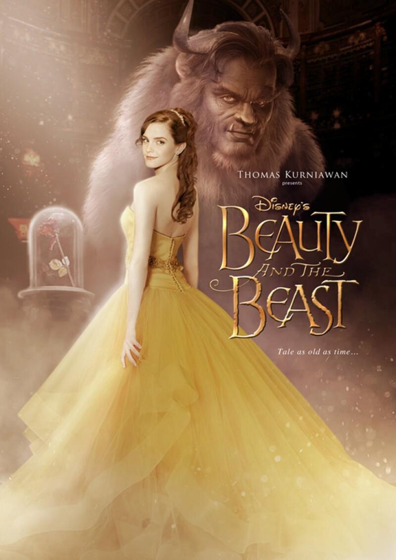 A casi un año de que se estrene la cinta protagonizada por la actriz británica, Dan Stevens y Ewan McGregor, el póster hecho por un fan ha revelado cómo se podría ver el personaje de Bella.
