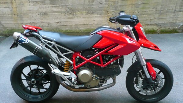 Ducatti, Hypermotard 1100. La moto deportiva de 250 mil pesos.