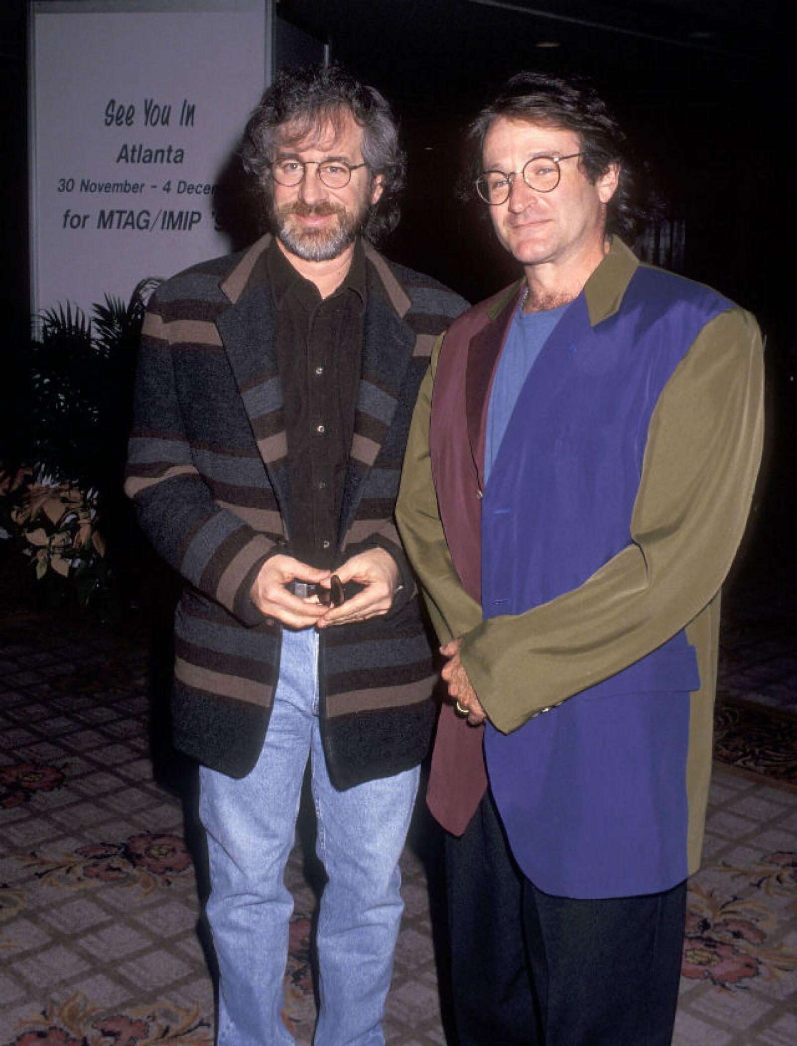 No sólo trabajó con Steven Spielberg en 1991, también Robin lo consideraba un gran amigo.