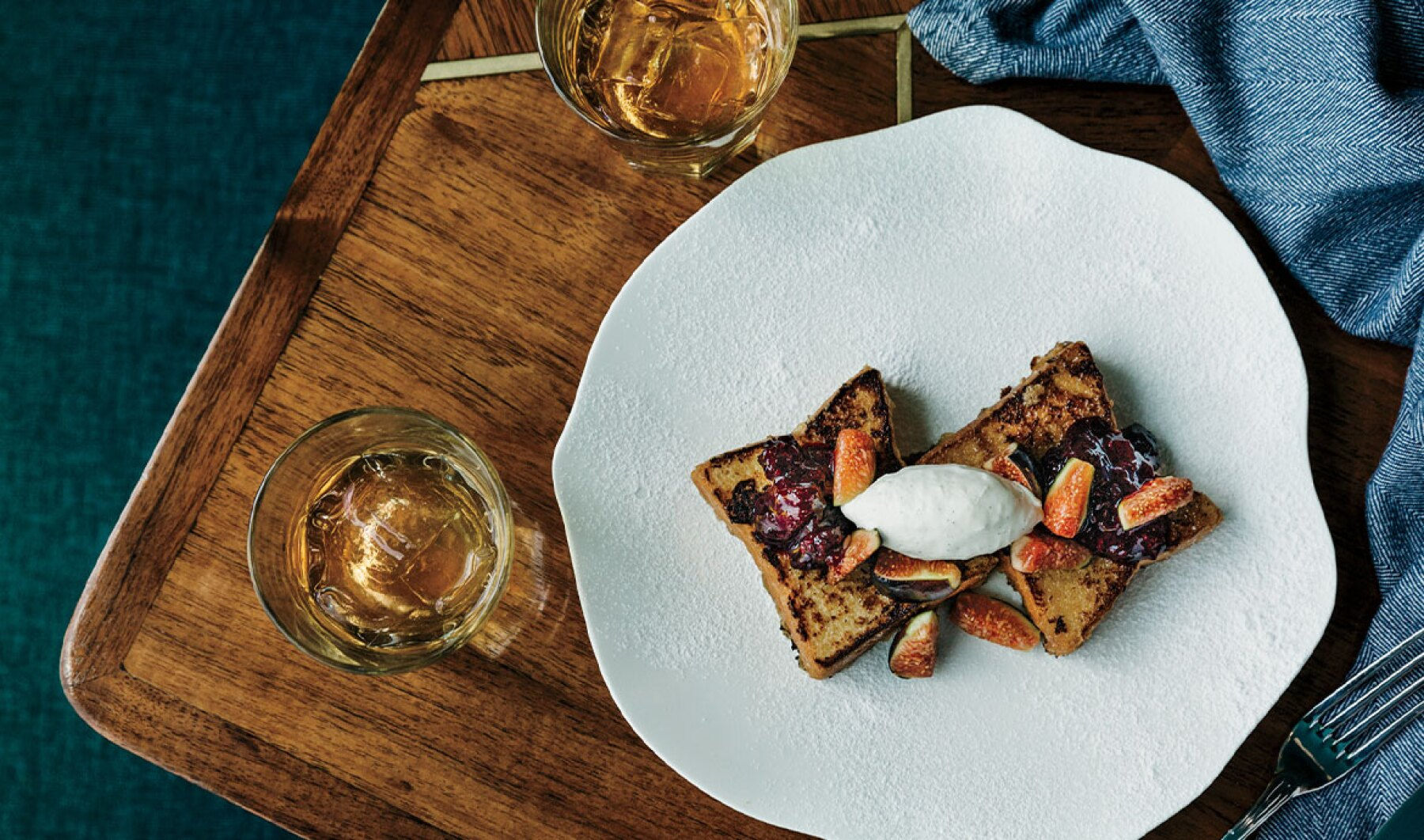 Maridaje: pan francés y whisky