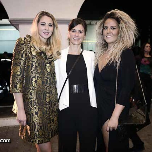 Chantal Ruiz,Luciana Arballo y Hanne Engles