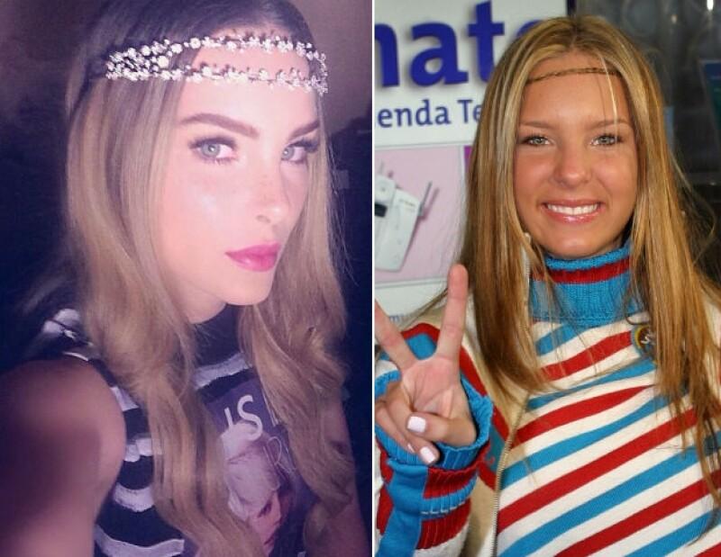 Izquierda: Belinda al día de hoy. Derecha: La artista en octubre de 2007.
