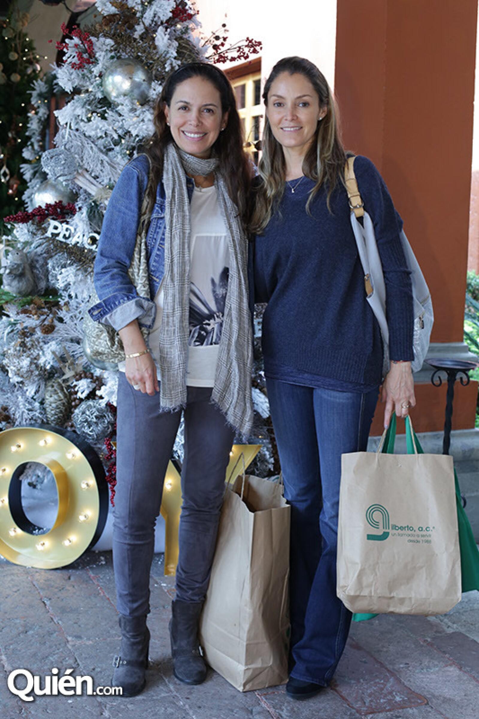 Natalia González y Lorena Arana