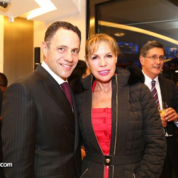 Sergio Berger y Debbie Beard