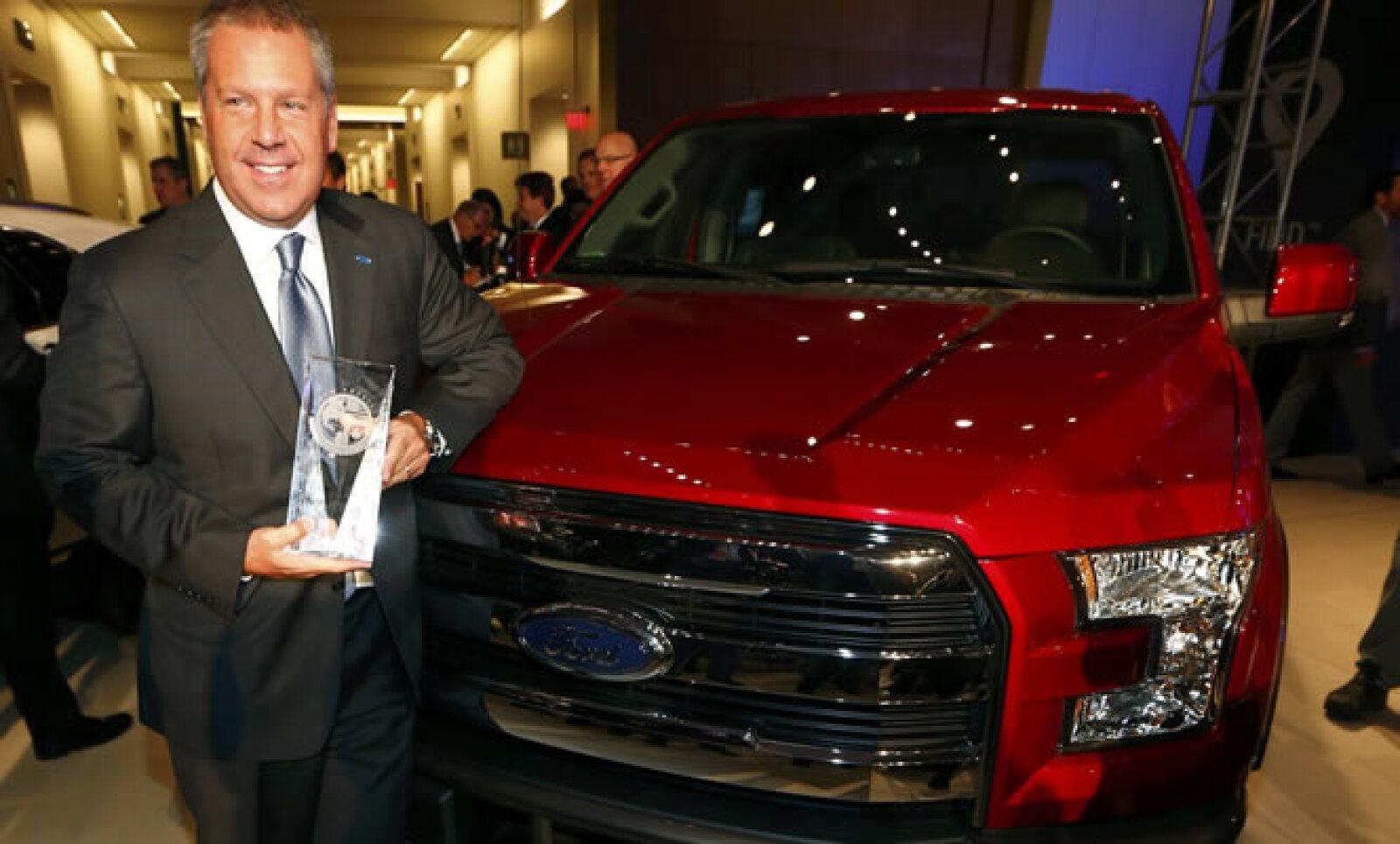 La pick-up F-150 de Ford ganó al Chevrolet Colorado y al Lincoln MRC en esta categoría.
