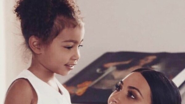 Kim Kardashian y su hija North