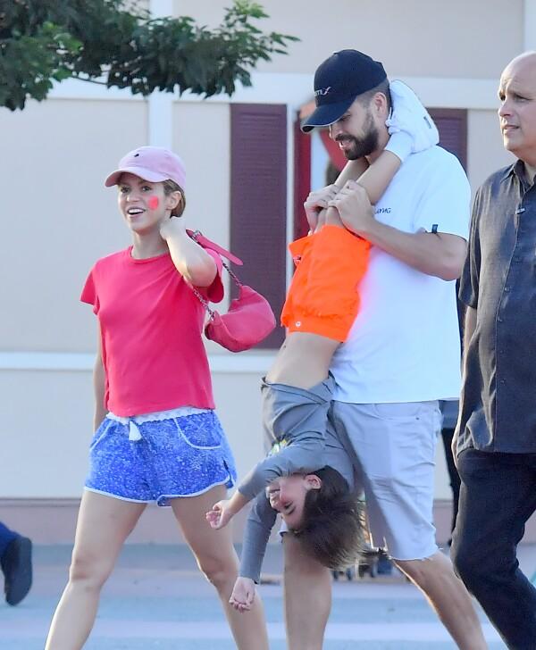Shakira sin bra