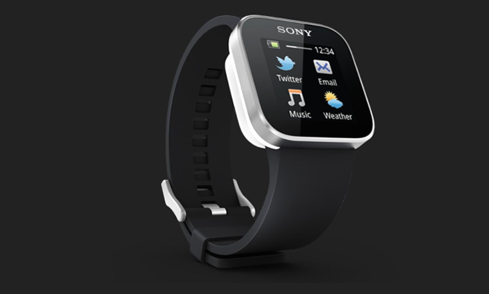Esta pieza de Sony tiene una pantalla táctil OLED de 1.3 pulgadas, enlace bluetooth 3.0 y cuatro días de batería útil, antes de recargarlo. Además, puedes recibir actualizaciones de Twitter, Facebook y hasta tus más recientes e-mails.