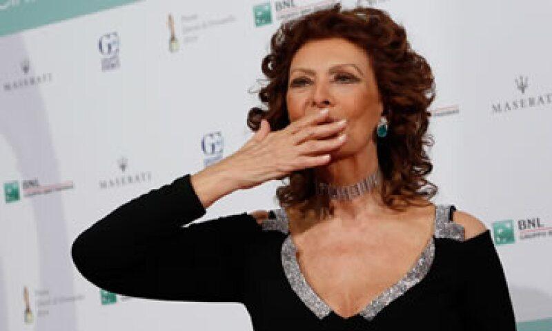 Como parte de los festejos de Sofía Loren se publicará su autobiografía. (Foto: Getty Images)
