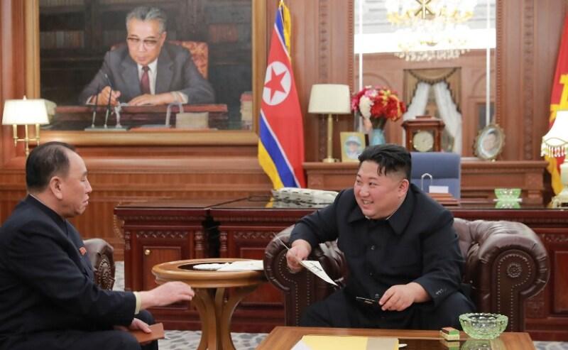 Kim Jong Un carta Trump