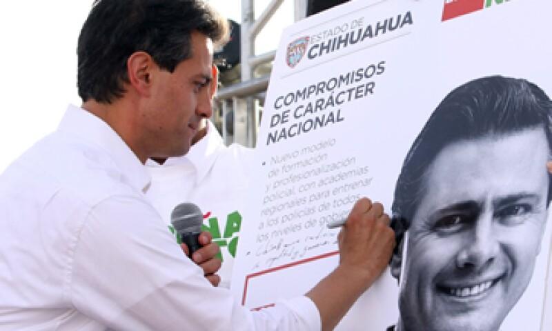 La campaña presidencial de Peña Nieto se basa en que el candidato cumple sus promesas. (Foto: Notimex)