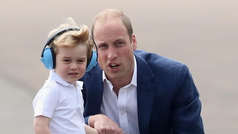 George y William en 2016