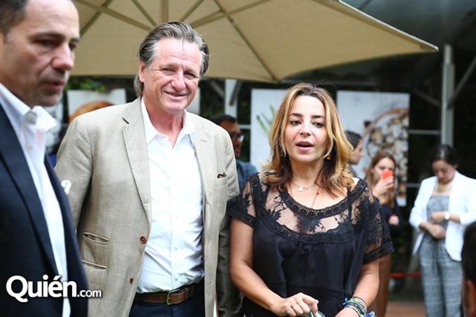 Giorgio Brignone y Luisa Serna