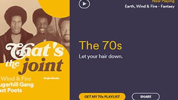 Taste Rewind elije tus gustos musicales del pasado según las preferencias actuales. (Foto: Spotify-TasteRewind.com )