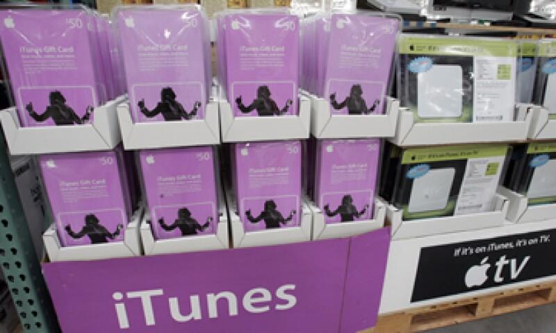 iTunes domina el mercado de videos digitales y abarca el 67% de las ventas de programas de televisión.(Foto: AP)