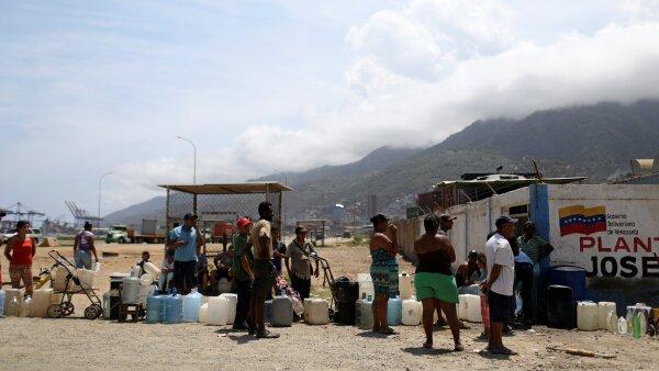 Venezuela agua apagón