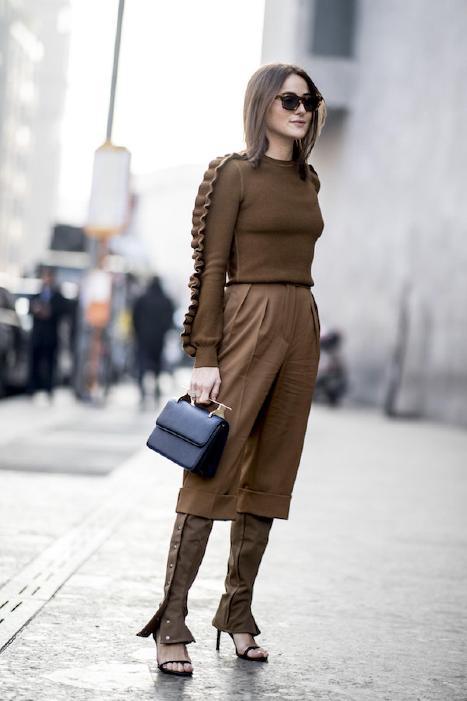 Milano Street Style Marron