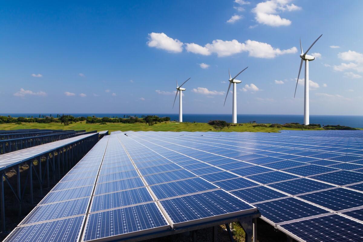 Image of the renewable energy