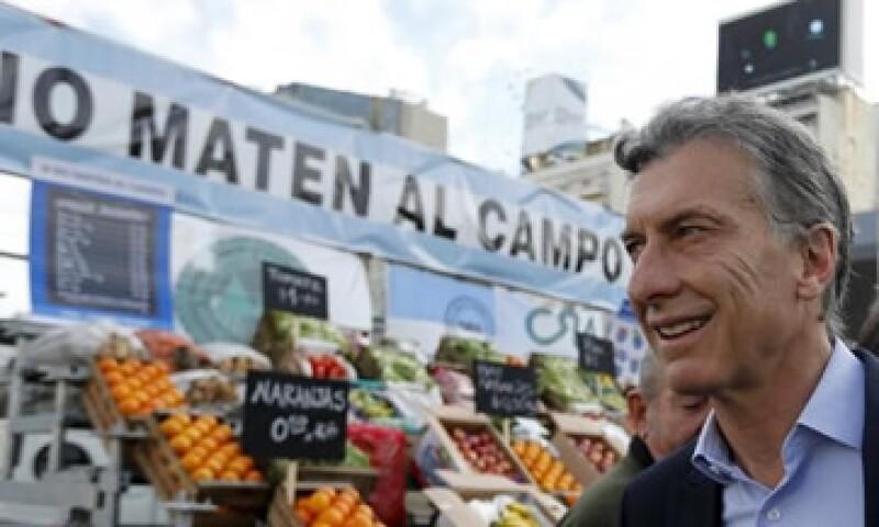 El líder de centroderecha venció el domingo a Daniel Scioli. (Foto: Reuters )