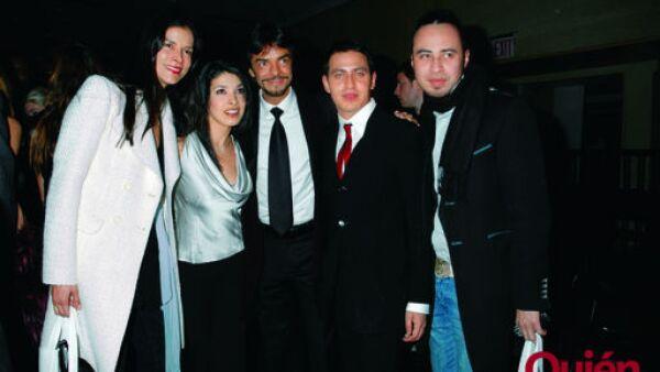 Patricia Velásquez, Dalilah Polanco, Eugenio Derbez, Gabriel Rivera Barraza, Carlos Campos diseñador de Ricky Martin, Eugenio Derbez