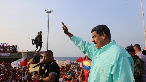 Maduro en campaña