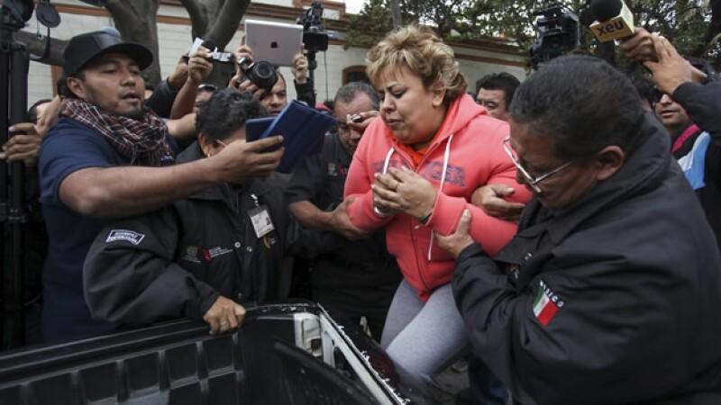 Sara Luz Herrera Cano exalcaldesa de Alvarado es detenida