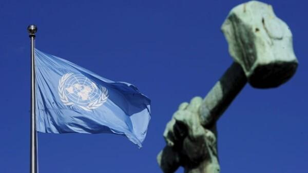 ONU bandera