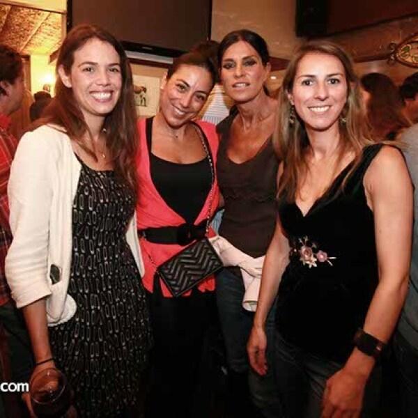 Sara Álvarez,Martha Castillo,Irene Ganzero y Laura Cancio
