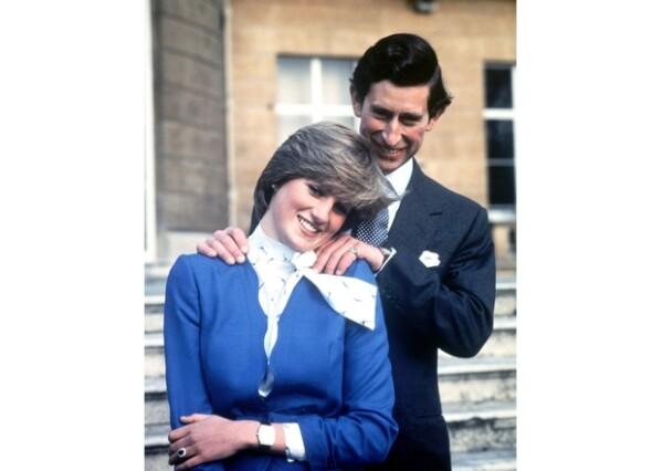 Carlos y Diana se comprometieron el 24 de febrero de 1981.