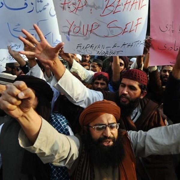 Pakistán - apoyo a leyes de blasfemia