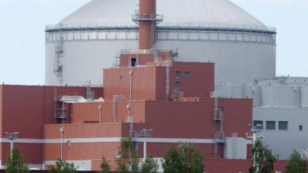 Reactor nuclear finland�s en Olkiluoto