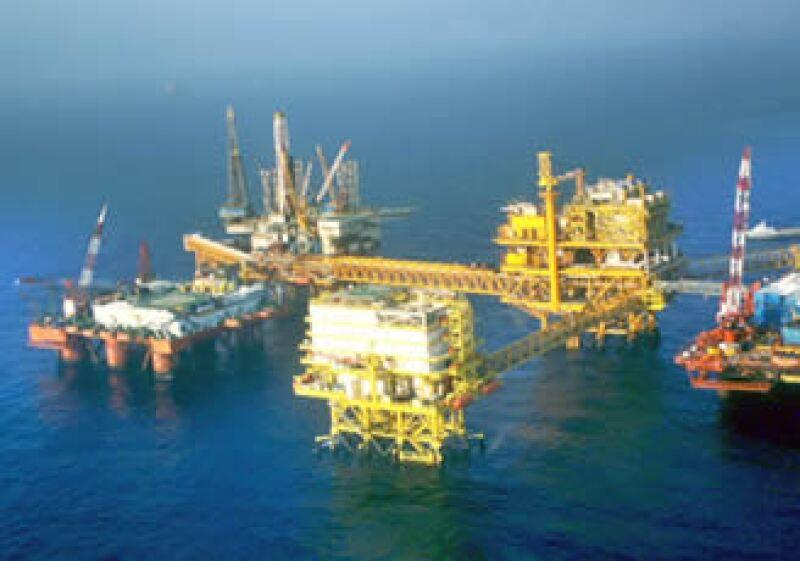 Pemex destinó la mayor parte del presupuesto al desarrollo de la Región Marina Noreste. (Foto: Notimex)