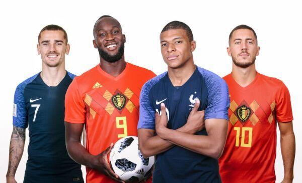 Bélgica Francia Semifinal Rusia 2018