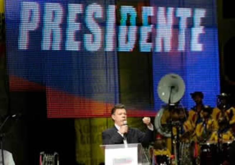 Juan Manuel Santos es el presidente electo de Colombia. (Foto: AP)
