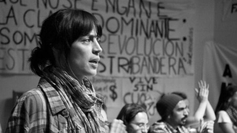 Ilse en una escena de Gueros, película que se ha ganado a la crítica mundial.