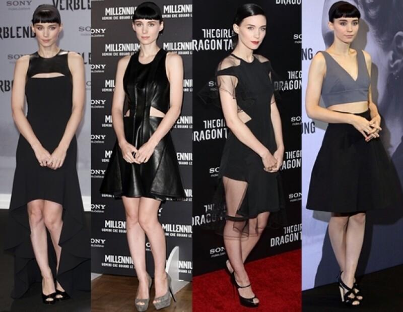 Los vestidos `cut- out´son algunos de los preferidos de la actriz.