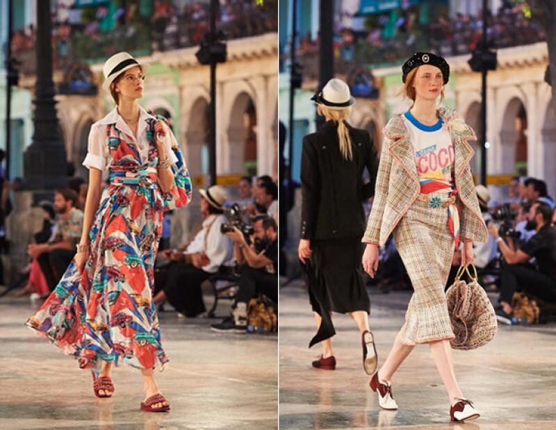 Karl Lagerfeld imprimió motivos de la cultura cubana en su colección para Chanel.