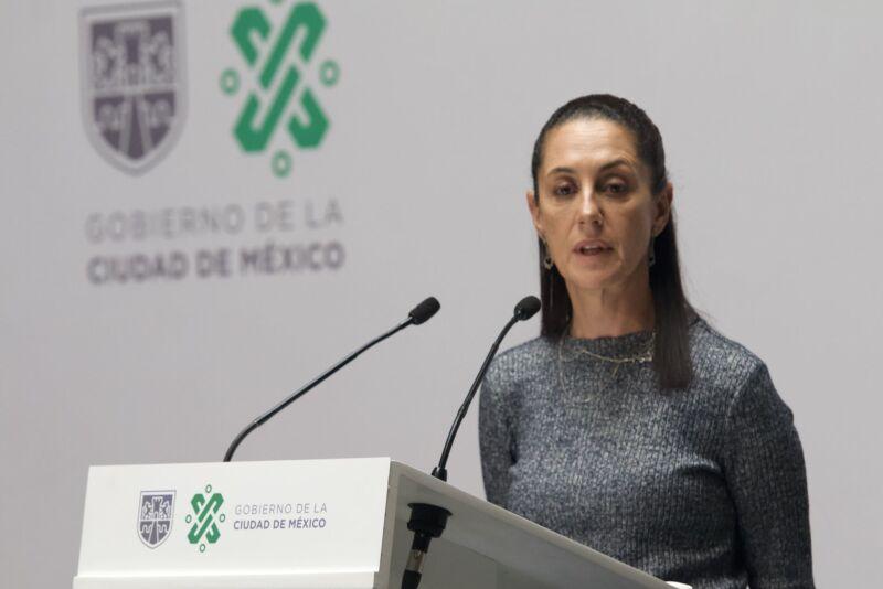 Claudia Sheinbaum, jefa de Gobierno de la Ciudad