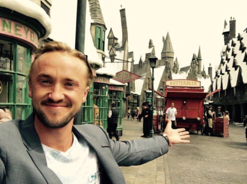 Tom Felton (Draco Malfoy).