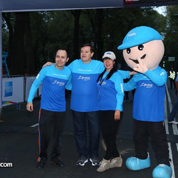 Jorge Guevara,José María Zas y Jacqueline Torres