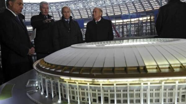 Construcción Estadios Moscú
