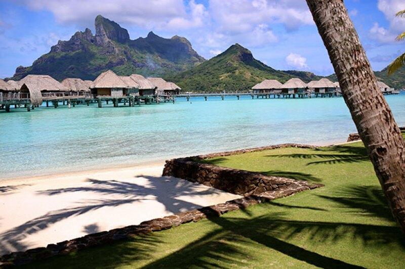 La pareja pasará su luna de miel en este paradisíaco lugar.