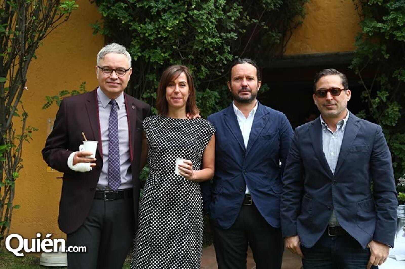 Ramón Corona,Ruth Ovseyevitz,Eduardo Prieto y Moisés Micha