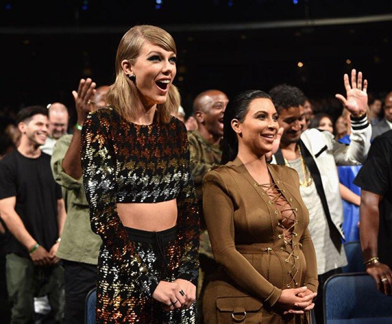 Taylor se ha convertido en la nueva reina de Instagram, dejando a Kim en segundo lugar.