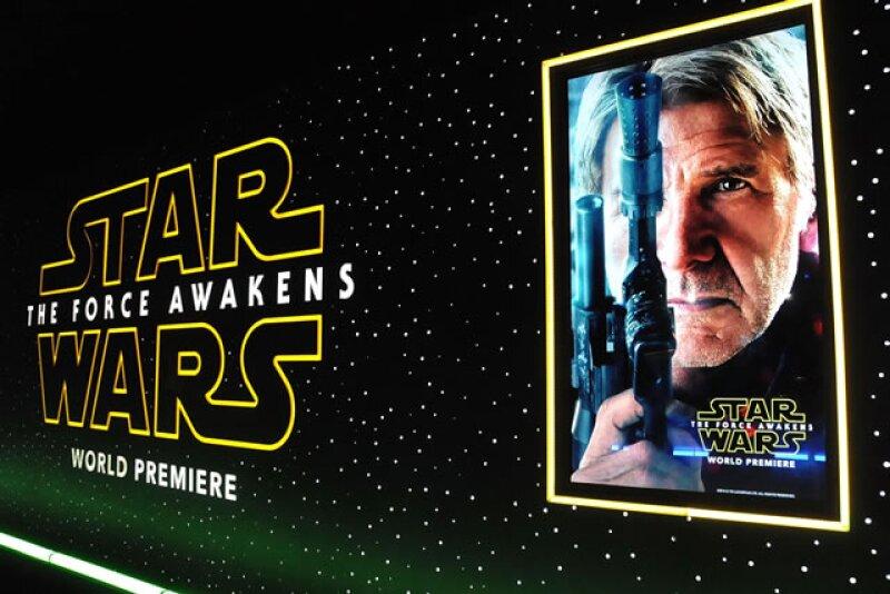 Premiere de Star Wars: The Force Awakens organizada por Walt Disney Pictures y Lucasfilm´s.