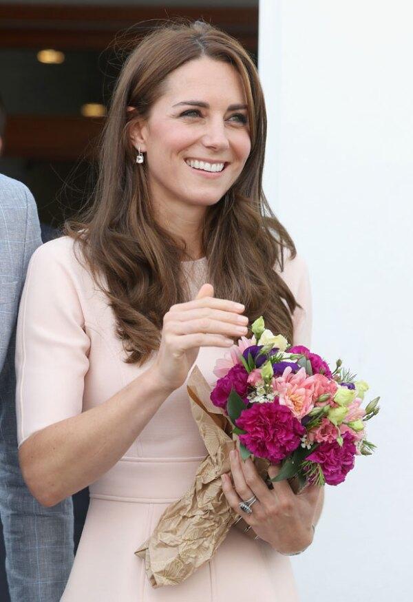 Kate Middleton en Cornwall.