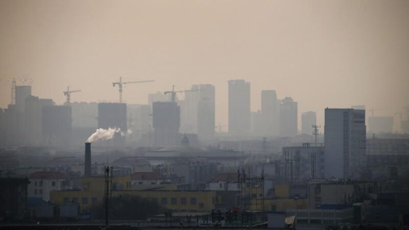 Hebei provincia China contaminación