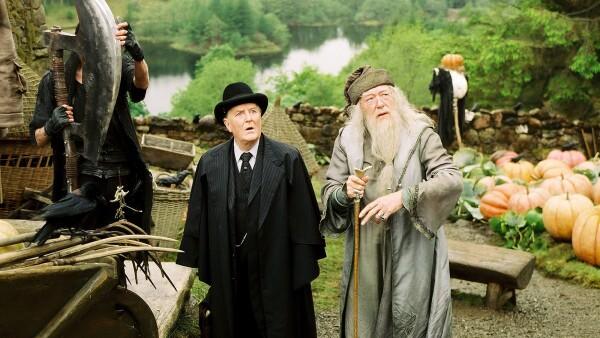 Robert Hardy, Harry Potter