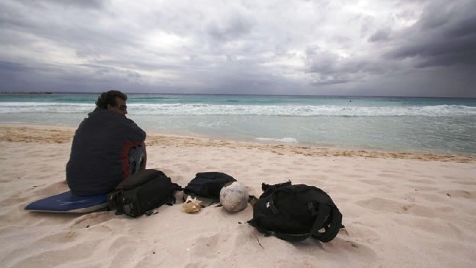 Cancún Huracán Rina Caribe